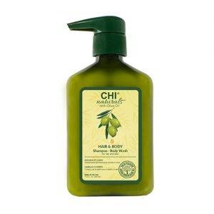 CHI Olive Organics Hair & Body - Shampoo Body Wash 340ml