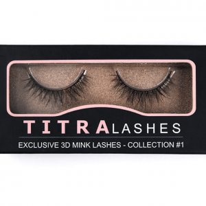 TITRA Lashes Exclusive 3D Mink Eyelashes Øjenvipper