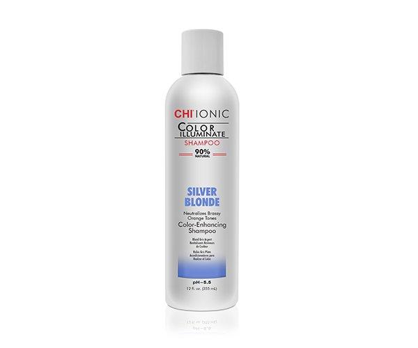 CHI Ionic Color Illuminate Silver Blond Shampoo 355ml