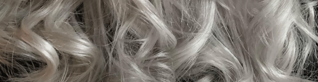 Sølv Silver Gråt Hår